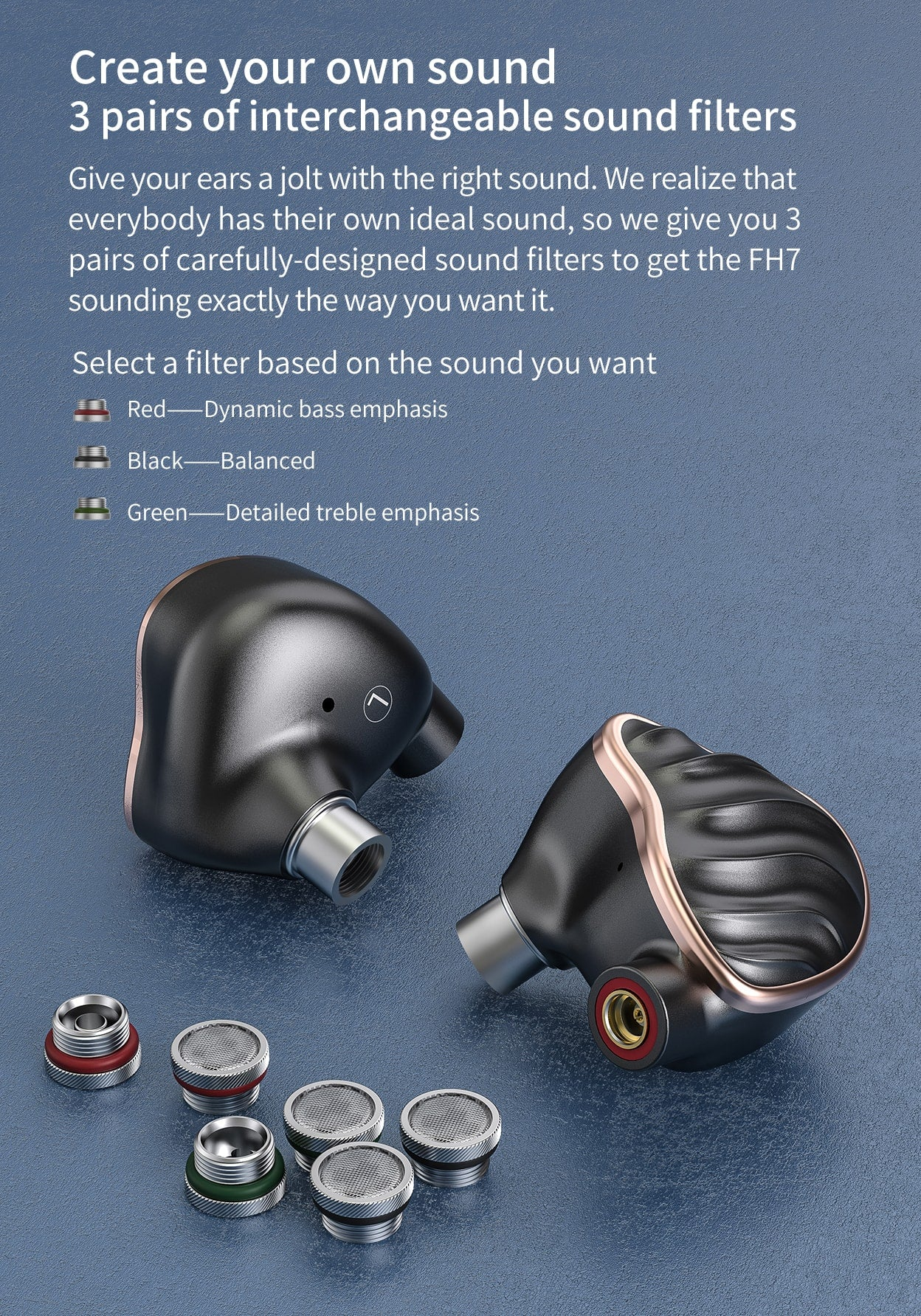 FiiO FH7 5-Drive Hybrid in-Ear Monitor