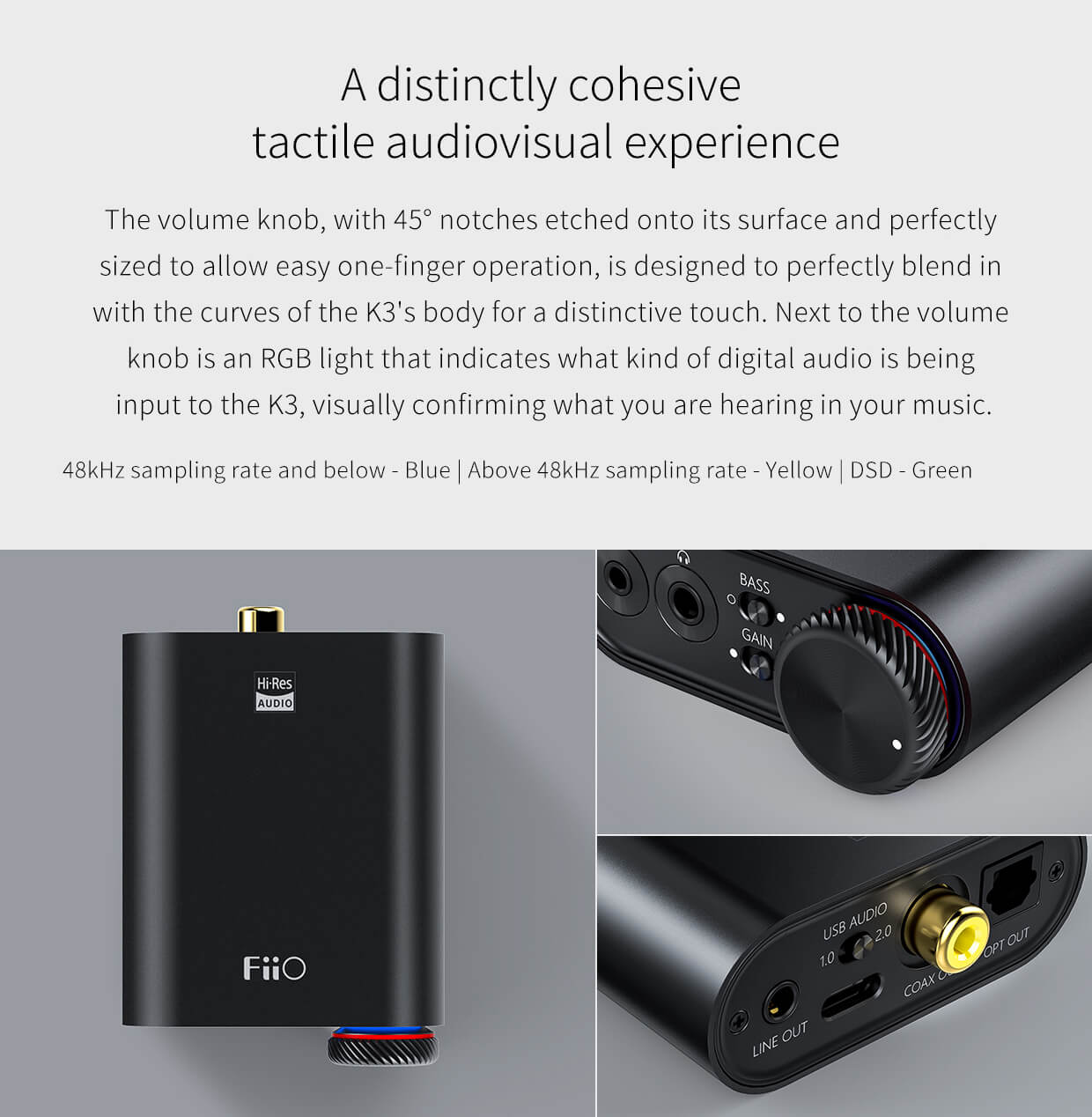 FiiO K3 Portable Headphone Amplifier & USB DAC – FiiO India