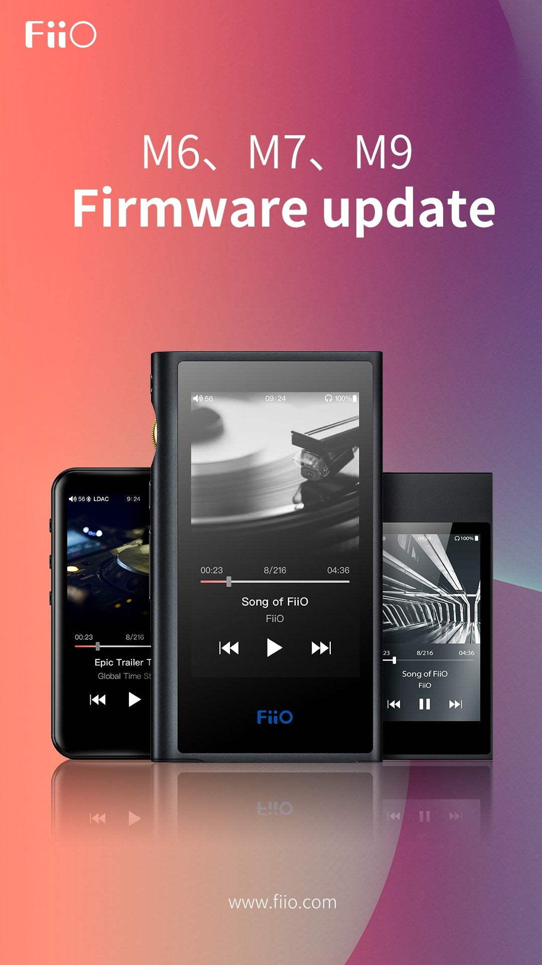 Firmware M6/7/9
