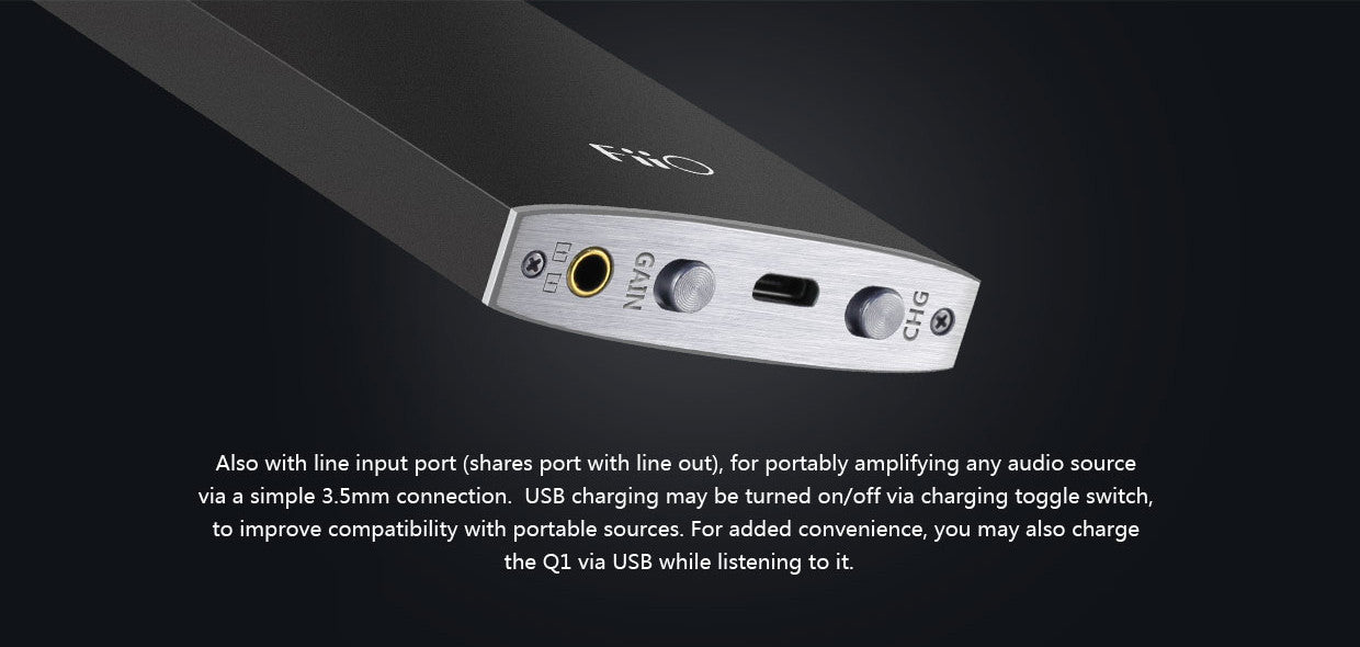 FiiO K1 Portable Amplifier & DAC