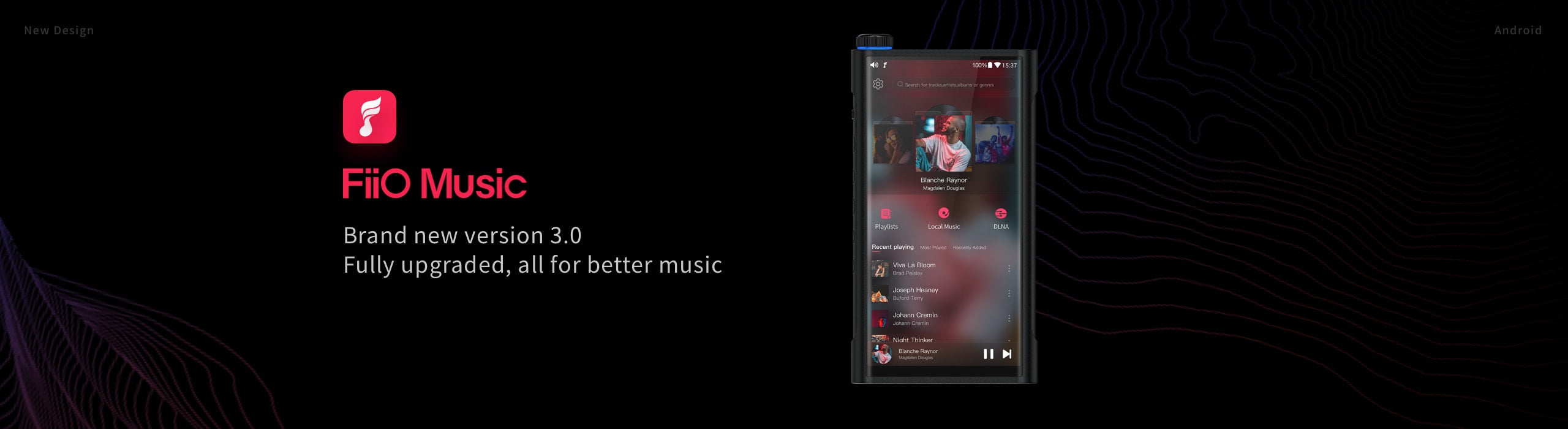 FiiO Music App V3.0.1 for Android devices, X series and M series players update now!