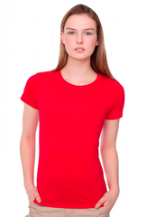 Model Showing Size XS Tee