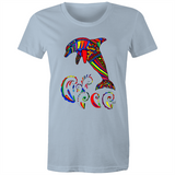Dolphin Dee - Sportage Surf - Womens T-shirt