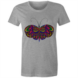 Butterfly Bella - Women's Maple Tee