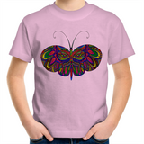 Butterfly Bella Kids Youth Crew T-Shirt