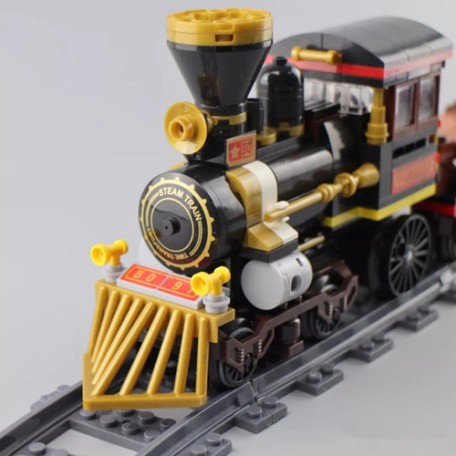 WINNER 5091 City Train Series Steam Train Reviewed by CK
