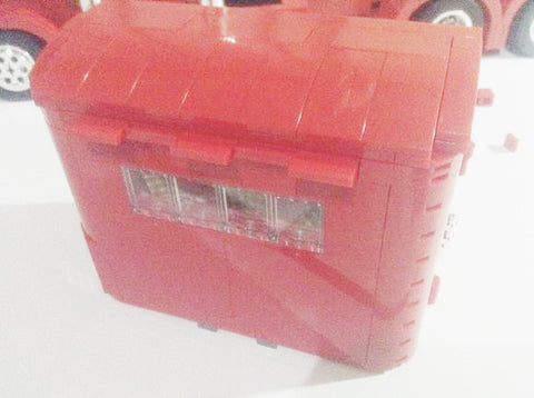 Review for XINGBAO XB-03012 The Red Monster Set by