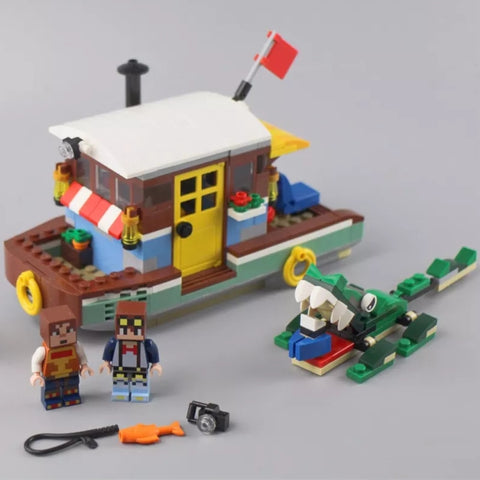 SX 1029 3 in 1 Small Boat - Your World of Building Blocks