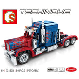 SEMBO 701803 PETORBILT Truck - Your World of Building Blocks