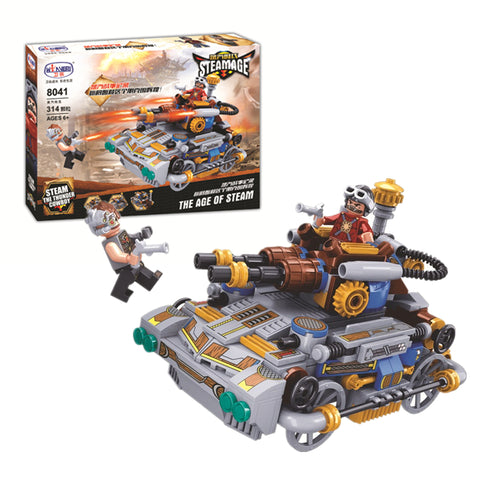 WINNER 8041 the Steam Tank - Your World of Building Blocks