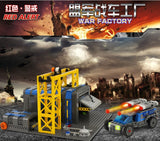 KAZI KY 81010 The War Factory - Your World of Building Blocks