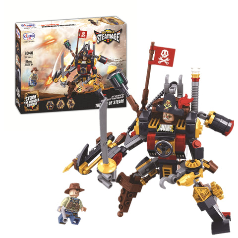 WINNER 8040 the Steam Warrior - Your World of Building Blocks