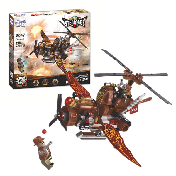 WINNER 8047 the Steam Helicopter - Your World of Building Blocks