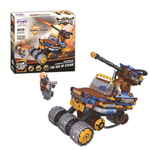 WINNER 8039 the Steam Mustang Chariot - Your World of Building Blocks