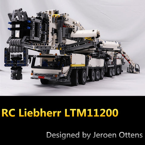 MOC 20920 RC Liebherr LTM11200 - Your World of Building Blocks