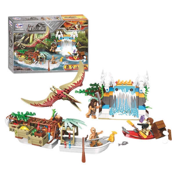 WINNER 8048 Dinosaur Tribe Supply Ship
