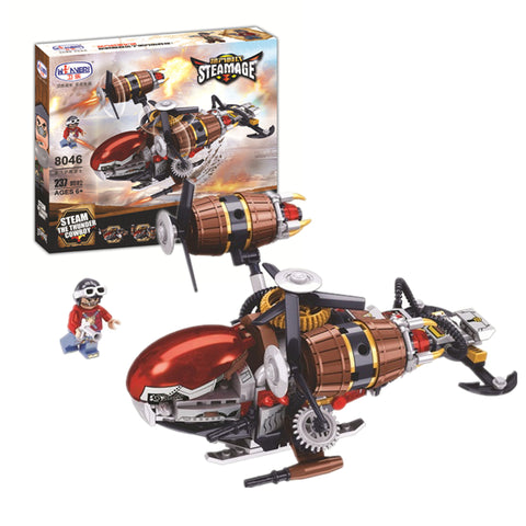WINNER 8046 the Steam Fighter - Your World of Building Blocks