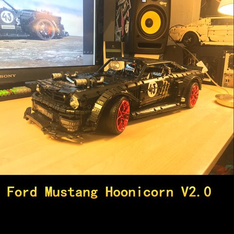 MOC 22970 Ford Mustang Hoonicorn V2.0 - Your World of Building Blocks