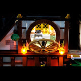 DIY LED Light Kit For Ninja City Docks 06083 - Your World of Building Blocks