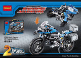 DECOOL 3369 A/B 2 In 1 The BAMW Off-road Motorcycles R1200 GS - Your World of Building Blocks