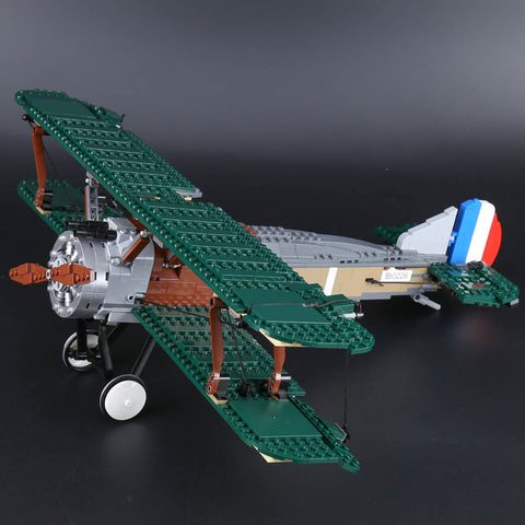 MOC 21021 The Sopwith Camel Fighter - Your World of Building Blocks