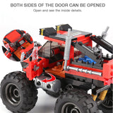 XINGBAO Dream Car Series XB-03025 The super big foot car Set Building Blocks Bricks Toys Model - Your World of Building Blocks