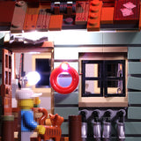 Advanced Version LED Light Kit For The Old Fishing Store 16050 - Your World of Building Blocks