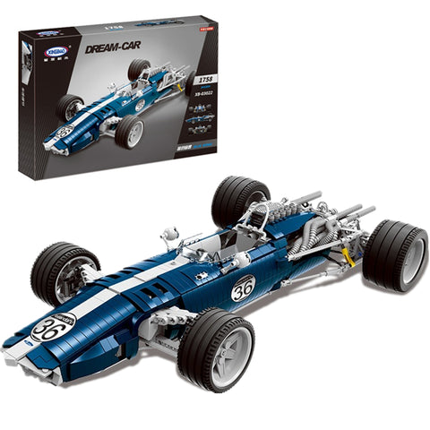 XINGBAO XB-03022 The Blue Racing Car - Your World of Building Blocks