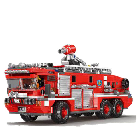 XINGBAO XB-03030 The Water Tank Fire Truck - Your World of Building Blocks