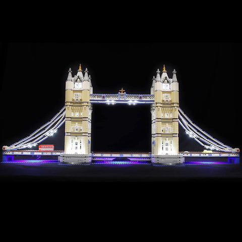 DIY LED Light Up Kit For London bridge 17004 - Your World of Building Blocks