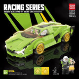 Quanguan 100140 Green Racing Car