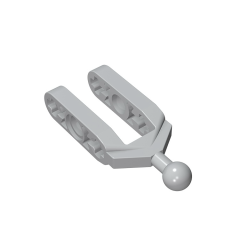 GOBRICKS GDS-1028 Steering Knuckle Arm with Ball Joint (Tow Ball) - Your World of Building Blocks