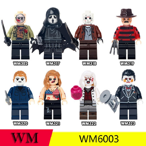 WM Horrible movie Minifigures - Your World of Building Blocks