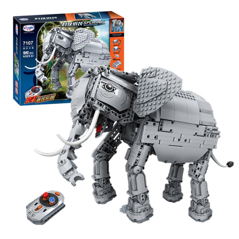WINNER 7107 RC Elephant with lights and soun - Your World of Building Blocks