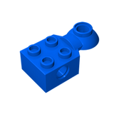 GOBRICKS GDS-1089 Technic, Brick Modified 2 x 2 with Pin Hole, Rotation Joint Ball Half (Horizontal Top) - Your World of Building Blocks