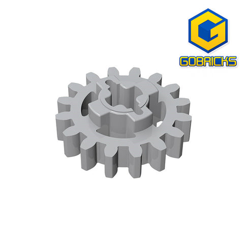 GOBRICKS GDS-1097 Gear 16 Tooth (Second Version - Reinforced) - Your World of Building Blocks