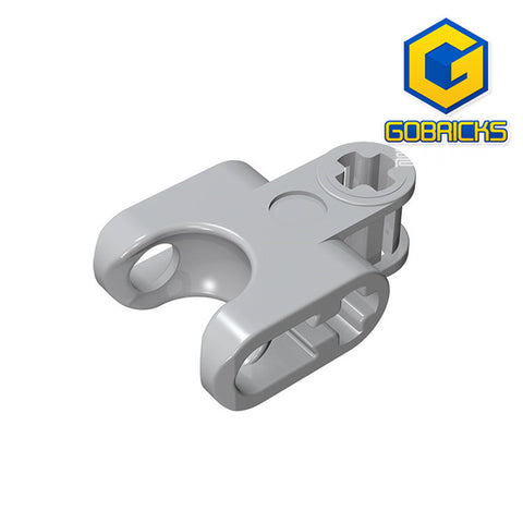 GOBRICKS GDS-1205 Technic, Axle Connector 2 x 3 with Ball Socket, Open Lower Axle Holes