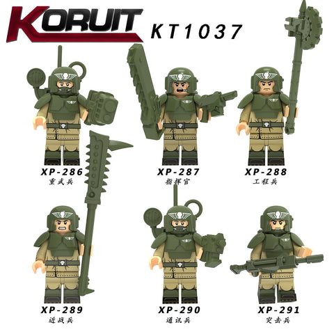KORUIT Imperial Guard Minifigures - Your World of Building Blocks