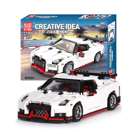 Mould King 13104 The GTR Speed Racing Car - Your World of Building Blocks