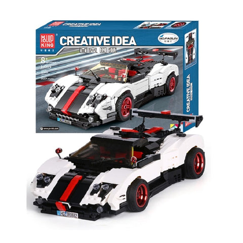 Mould King 13105 The Pagani Speed Racing Car - Your World of Building Blocks