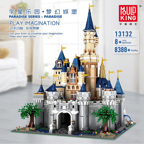 Mould King 13132 Disney Castle
