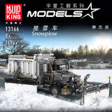 Mould King 13166 The Snowplow Truck - Your World of Building Blocks