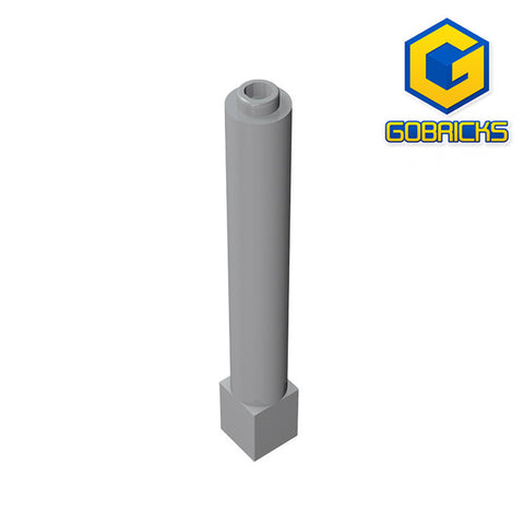 GOBRICKS GDS-1326 Support 1 x 1 x 6 Solid Pillar - Your World of Building Blocks