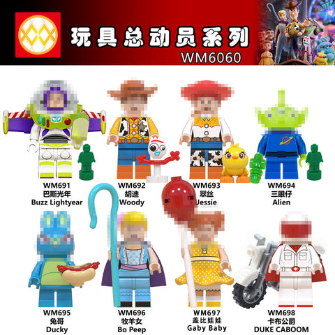 WM Toy Story Minifigures - Your World of Building Blocks