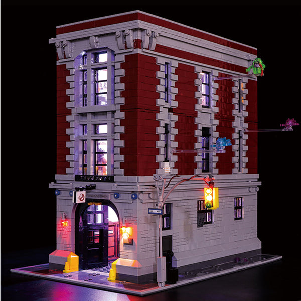 DIY LED Light Kit For Ghostbusters Firehouse Headquarters 16001 - Your World of Building Blocks