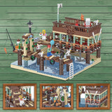 URGE 30101 Fish House Pier - Your World of Building Blocks