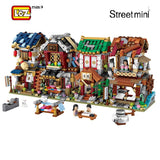 LOZ 1733-1736 Mini Streetview - Your World of Building Blocks