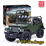 Mould King 13124 RC 1:8 WRANGLER - Your World of Building Blocks