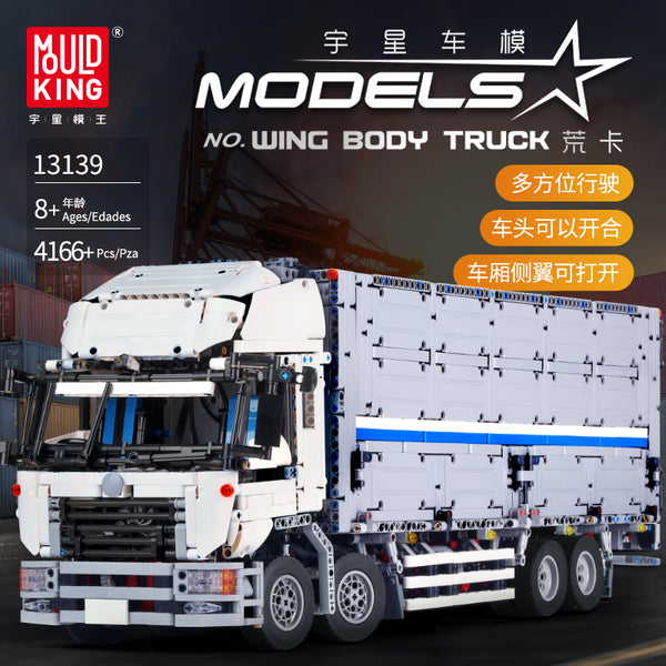 Mould King 13139 RC Wing Body Truck - Your World of Building Blocks