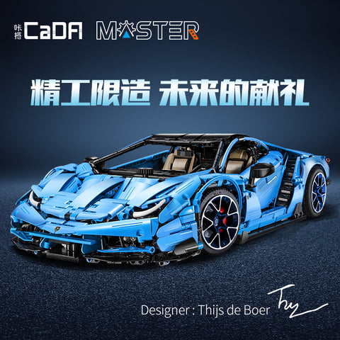 CADA C61041 1:8 Lamborghinis Centenario - Your World of Building Blocks